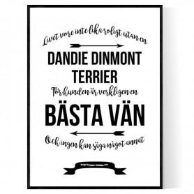 Livet Med Dandie Dinmont Terrier Poster