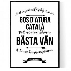 Livet Med Gos d'atura Catalá Poster