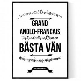 Livet Med Grand Anglo-Francais Poster