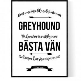Livet Med Greyhound Poster