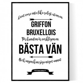 Livet Med Griffon Bruxellois Poster