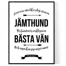 Livet Med Jämthund Poster
