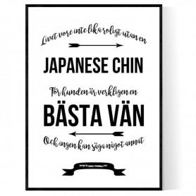 Livet Med Japanese Chin Poster