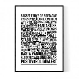 Basset Fauve De Bretagne Poster