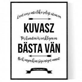 Livet Med Kuvasz Poster