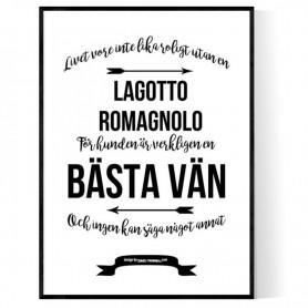 Livet Med Lagotto Romagnolo Poster