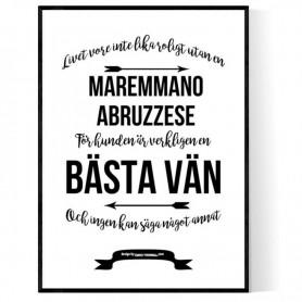 Livet Med Maremmano Abruzzese Poster