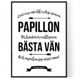 Livet Med Papillon Poster