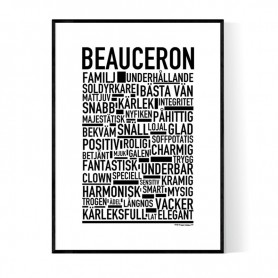 Beauceron Poster