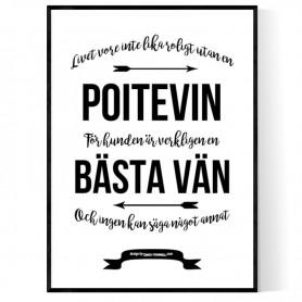 Livet Med Poitevin Poster