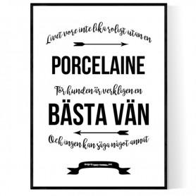 Livet Med Porcelaine Poster