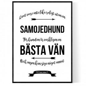 Livet Med Samojedhund Poster