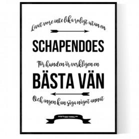 Livet Med Schapendoes Poster