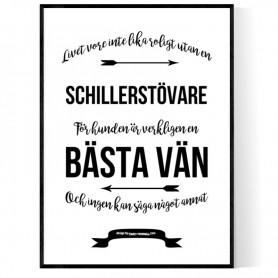 Livet Med Schillerstövare Poster