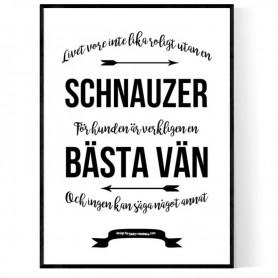 Livet Med Schnauzer Poster