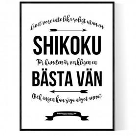 Livet Med Shikoku Poster