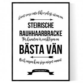 Livet Med Steirische Rauhhaarbracke Poster