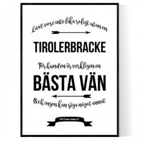 Livet Med Tirolerbracke Poster