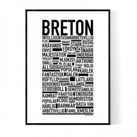 Breton Poster