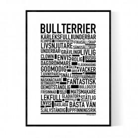 Bullterrier Poster