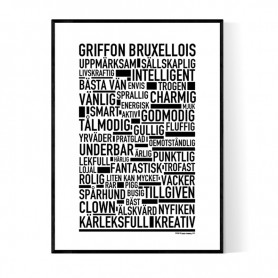 Griffon Bruxellois Poster