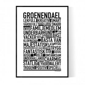 Groenendael Poster