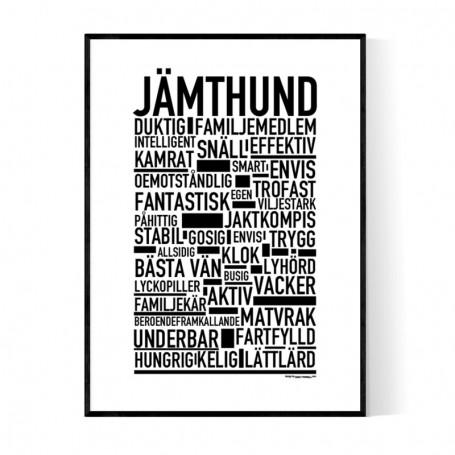 Jämthund Poster