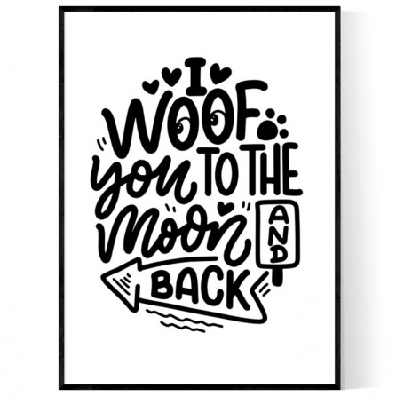 Woof To The Moon