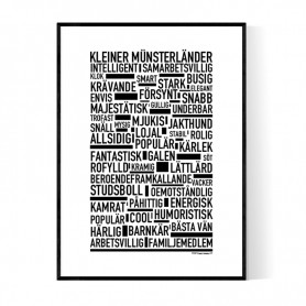 Kleiner Münsterländer Poster