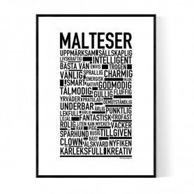 Malteser Poster