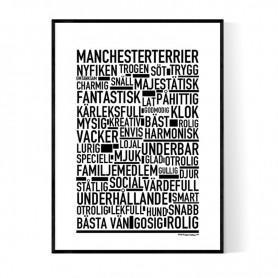 Manchesterterrier Poster