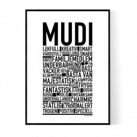 Mudi Poster