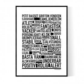 Petit Basset Griffon Vendeen Poster