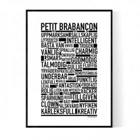 Petit Brabançon Poster