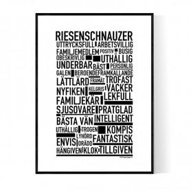 Riesenschnauzer Poster