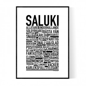 Saluki Poster