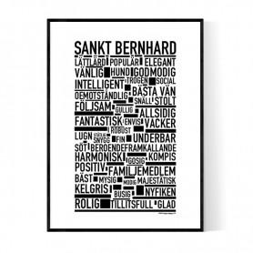 Sankt Bernhard Poster