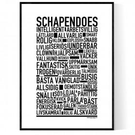 Schapendoes Poster