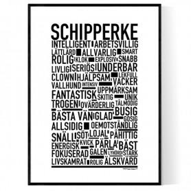 Schipperke Poster