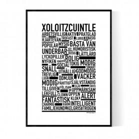 Xoloitzcuintle Poster