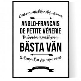 Livet Med Anglo-Francais de Petite Vénerie Poster