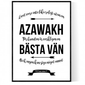 Livet Med Azawakh Poster