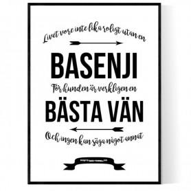Livet Med Basenji Poster