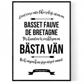 Livet Med Basset Fauve de Bretagne Poster