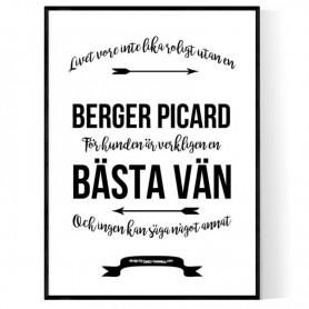 Livet Med Berger Picard Poster