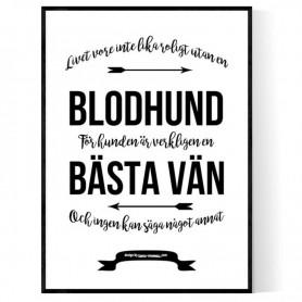 Livet Med Blodhund Poster