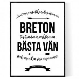 Livet Med Breton Poster