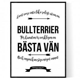 Livet Med Bullterrier Poster