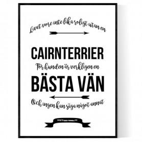 Livet Med Cairnterrier Poster