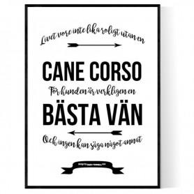 Livet Med Cane Corso Poster